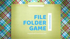 File folder games can be easy to put together and make learning fun your your students! Not sure where to find file folder game printables? Look online for resources that are books which have file folder games to print and go. Setting them up is even easier! Grab some basic file folders, open them up […] The post File Folder Game Organization appeared first on Organized Classroom.