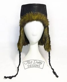 Swamp Voodoo  Hand Made One of a Kind Leather and Fur