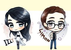 Shadowhunters - Simon Lewis x Isabelle Lightwood - Sizzy