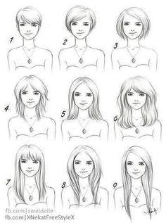 Mis cortes de cabello :D