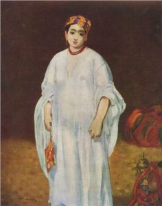 Young Woman in Oriental Garb - Edouard Manet