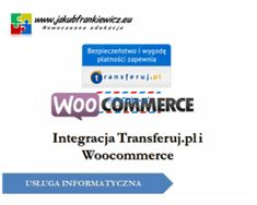 Ogłoszenie w serwisie TuDodam.pl: Integracja Transferuj.pl i Woocommerce
