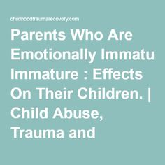an analysis of the effects of abusing children by parents Analysis and reporting system impact on the children the effects can be both indirect family life for children with one or both parents that abuse.