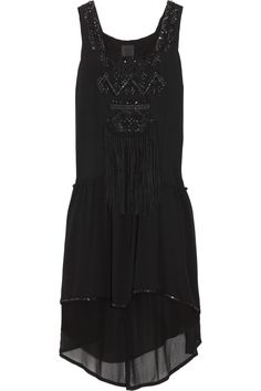 Anna Sui Silk Georgette Dress #Dress #Anna_Sui