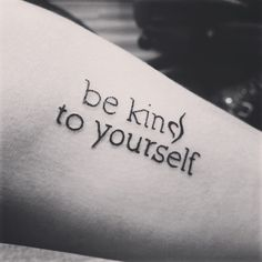 Whether it's eating disorders, drug use, anything! If you are on recovery , BE KIND TO YOURSELF !