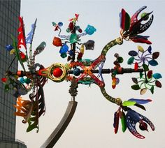 Kinetic art by Andrew Carson
