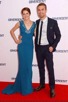 Shailene Woodley & Theo James