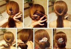 Peinado facil!!