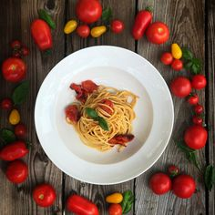 Spaghetti, Pasta, Ethnic Recipes, Food, Few Ingredients, Harvest, Fresh, Easy Meals, Essen