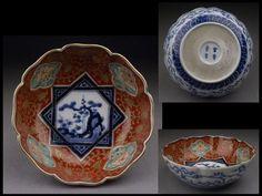 古伊万里染錦輪花膾皿 http://page19.auctions.yahoo.co.jp/jp/auction/x272673425