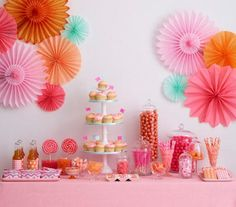 Pink and Orange Jubilee | Sweet and festive ideas for an unforgettable celebration.
