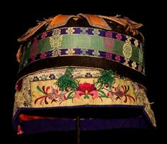 Chinese Old Hand Embroidery Child Hat