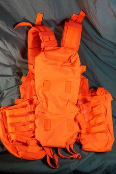 Molle Blaze Orange Tactical Vest Http Onduty Ca
