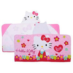 Hello Kitty New Outlook Baby Hooded Wrap 100% Cotton Hell...
