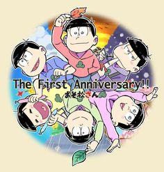 1年間も楽しませてくれてる6つ子たちに愛を込めて(*´ω`*)