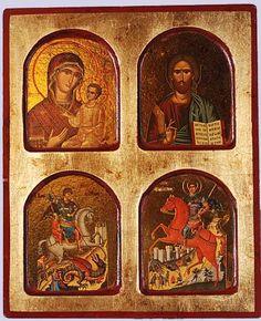 byzantine icon -  - date? location? Anyone?