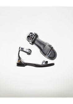Proenza Schouler Flat Ankle Strap Sandal | La Garçonne