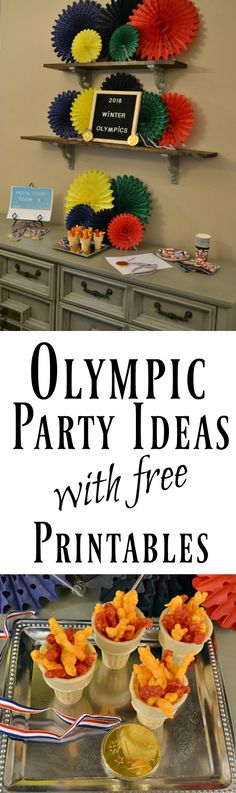 free olympic word scramble printable, keep track of the medal count printable.  Plus easy olympic party ideas!