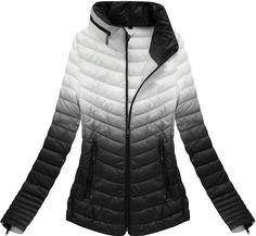 Dámska prechodná bunda čierna xr7112x Winter Jackets, Fashion, Winter Coats, Moda, Winter Vest Outfits, Fashion Styles, Fashion Illustrations