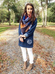 Marley Lilly Monogrammed Sweatshirt