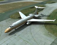 Vickers VC 10 AEW - just a fantasy (what a Nimrod would look like if it were built on airframe instead of DH Comet). Military role of real was limited to transport and tanker. Military Jets, Military Weapons, Military Aircraft, Vickers Vc10, De Havilland Comet, Airplane Design, Aircraft Photos, Aircraft Design, Automotive Art