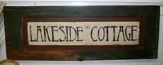 Antique wood door hand painted sign. Amazing color and patina.