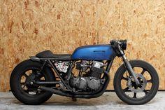 bubble visor: Wrench Monkees  Honda CB750