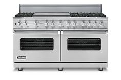"60"" Custom Sealed Burner Dual Fuel Range - VDSC. Custom Series."