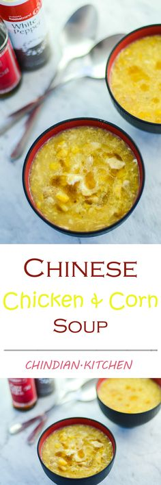 Classic Chinese Chicken and Corn Soup that is super quick and easy to make in one pot. Perfect for winter and always my favourite chinese soup.