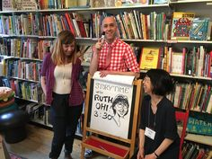 Authors for Indies Day at Type Books in Toronto.