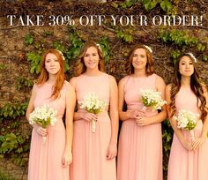 Take 30% off your order from Hera now through October 1st! Just enter Happily Hera at checkout