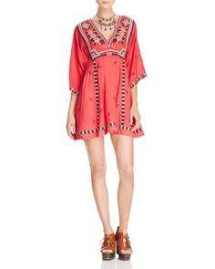 025c1138c293 Free People Tulum Embroidered Mini Dress