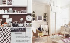 Jennifer Koehler's 200 square foot Manhattanapartment featured in 2008 Domino magazine, nyc apartment, small 1-bedroom apartment, Manhattan apartment, West Village apartment, NY apt, small space living, #dominomag