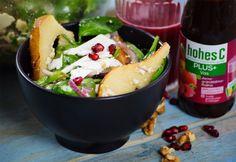 Bébispenótos-körtés saláta