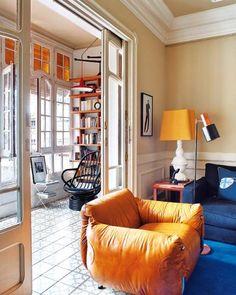 El amarillo, color de moda también en el hogar