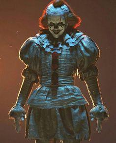 It Arte Horror, Horror Art, Horror Movies, Horror Film, Es Pennywise, Pennywise The Dancing Clown, Bill Skarsgard Pennywise, Ghost World, Evil Demons