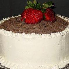 Sponge cake recipe at home