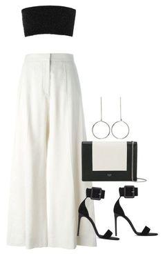 Fashion Outfits Women - Look preto e branco - Chanel Clothes - Trending Chanel Clothes . Teen Fashion Outfits, Mode Outfits, Look Fashion, Korean Fashion, Girl Outfits, Womens Fashion, Classy Fashion, 80s Fashion, Ladies Fashion