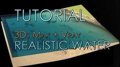 VRayでリアルな水のシェーダーを作るチュートリアル!! - CG Tips