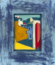 Boris Jirků - Via Etna 9 - Galerijní ulice v Jistebníku - Ostrava - Moravskoslezský kraj Ulice, Painting, Art, Painting Art, Paintings, Kunst, Paint, Draw, Art Education