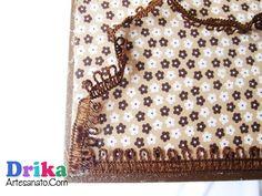 Artesanato em MDF: Gaveteiro personalizado com tecido