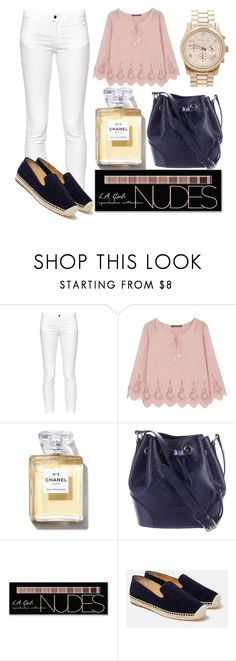"""""""Sin título #1010"""" by lululafitte on Polyvore featuring moda, French Connection, Comptoir Des Cotonniers, Gucci, Charlotte Russe, Lafayette 148 New York y Michael Kors"""