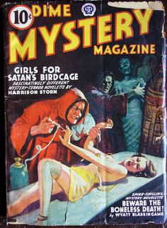 Dime Mystery Magazine 1940  May