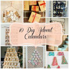 10 Unique Diy Advent Calendars