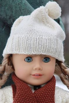 "American Girl Hat Patterns Free | These doll clothes fit 18"" dolls."
