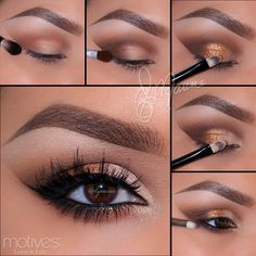 Golds and Browns by Ely Marino using ALL Motives!