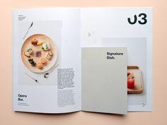 Design Brochure Food Typography 45 Ideas For 2019 Recipe Book Design, Cookbook Design, Menu Design, Food Design, Flyer Design, Layout Design, Print Design, Booklet Design, Corporate Design