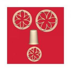 FMM Sugarcraft Flower Cutter Set - Bridal Lily Golda's Kitchen