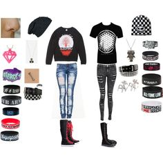 Bring me the horizon concert outfit