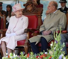 The Queen and The Duke of Edinburgh in Hereford, Herefordshire.